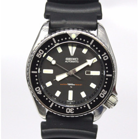 Reloj Seiko Diver Mediano P/ Buceo Caucho Automatico 90´s 2