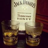 Jack Daniels Honey + Vaso + Revolvedor