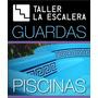 Guardas Vinilo Piletas Fibra Premium 60x15cm 2 Colores X1u