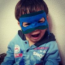 Máscara Tartarugas Ninja - Lembrancinha, Fantasia!