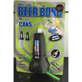Embudo Turbo Chela Lata Cerveza Beer Bong Original Head Rush