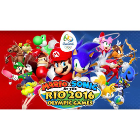 Jogo Novo Mario & Sonic Rio 2016 Olympic Games Nintendo 3ds