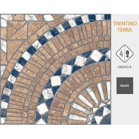 Ceramica Cortines Trentino Terra 40x40 1º. Precio Por Caja!!