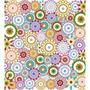 Papel Adesivo Contact Colorido Hippie Chic Vulcan 45cm X 2m