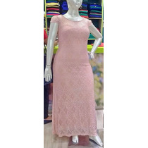 Vestido Longo Renda Plus Size Festa Casamento Formatura