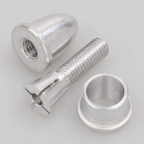 Spinner / Adaptador Helice Em Alumínio Motor Com Eixo 3,17mm