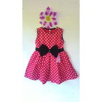 Vestido Minie, Poa Baby Luxo, Menina