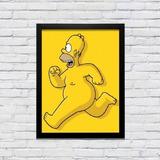 Quadro Homer Simpsons Pelado