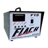 Carregador Inteligente De Bateria Flach F15 C/visor Digital