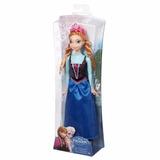 Disney Frozen Princess Anna Of Arendelle Sparkle Doll Mattel