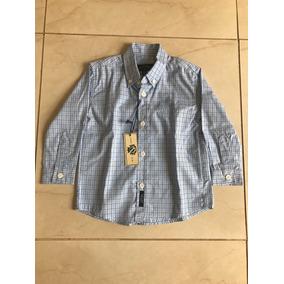 Camisa Social Infantil Metro Company Usa