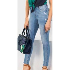 Calça Jeans Maria Valentina 202376 - Azul