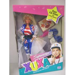 Boneca Xuxa Usa Americana Nova Lacrada Modelo Raro Xuxinha