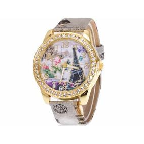 47e37496cf7 Mini Da Torre Eiffel Paris. - Relógios De Pulso no Mercado Livre Brasil