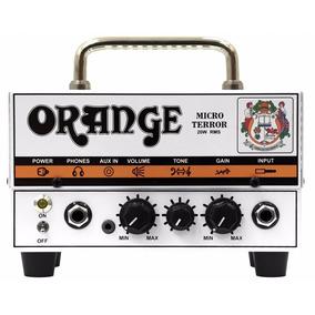 Cabeçote Valvulado Orange Micro Terror Head Mt20 20w Híbrido