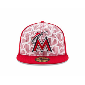 Mlb Gorras Oficiales Miami Marlins All Star Game 2016 7 3/8