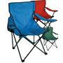 Combo X 3 Sillones Director Plegable Playa Camping Funda