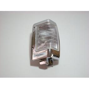 Lanterna Dianteira Aro Cromado Nissan D21 Pick-up Até 97 Le