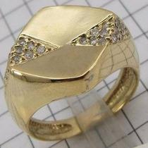 160 Reais O Grama Liquidando 5829 Anel 24 Diamantes Ouro 18k