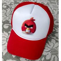 Boné Angry Birds Game Jogo Trucker De Tela