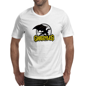 Remera Gárgolas Dragones Voladores Camiseta Creativa Marca