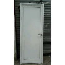 Puerta De Aluminio Exterior Reforzada Blanca