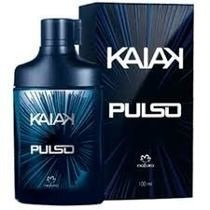Colonia Kaiak Pulso 100ml + Hidratante Macadámia 400ml