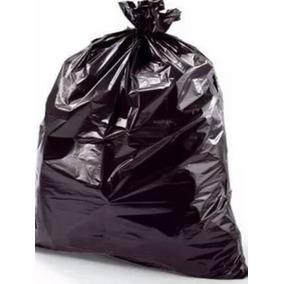 Bolsas Negras 40kg Calibre 14 Extra Fuertes