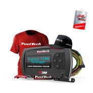 Ft300 Fueltech C/ Chicote+ Mega Brinde Camiseta Bordo Gel Bc