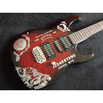 (*) Set Stickers Guitarra Ouija Hammett Kh2 Metallica
