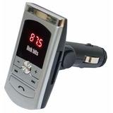 Transmisor Fm Bluetooth Manos Libres Usb Automovil Control