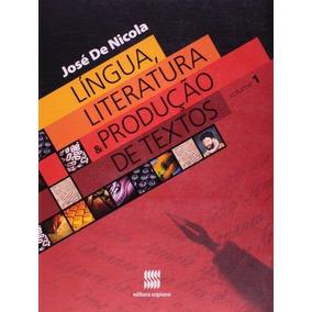 Lingua, Literatura E Produçao De Textos, V.1 - Ensino Médio