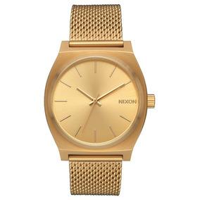 Reloj Nixon Dorado Time Teller Milanese