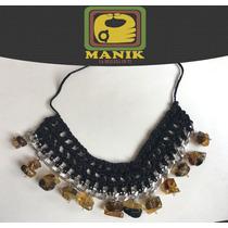Collar Con Aretes De Ambar Joyería 100% Original