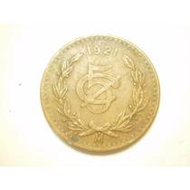 Moneda 5 Centavos Fecha 1921 Cobre