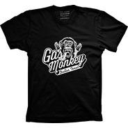 Camiseta Gas Monkey 1 Vários Tams Plus Size G1 G2 G3 G4
