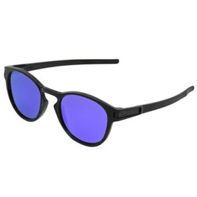 0fc5df96c0e3b Oculos De Sol Latch Preto Violeta Pronta Entrega Polarizado · R  89