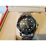 Reloj Omega 007 Seamaster 50 Aniversario James Bond Con Caja