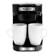 Cafetera Filtro Peabody Acero Inox 250 Ml + 2 Tazas Regalo!