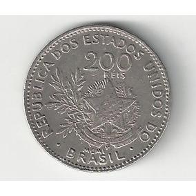 Moeda De 200 Réis - Mcmi (1901) - Mbc