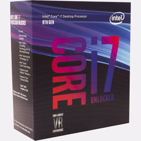 Processador I7 8700k 3.7ghz (4.7ghz Turbo) Coffe Lake 6 Core