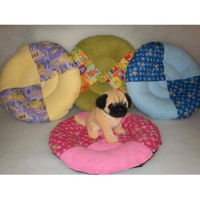 Colchón Redondo Económico Para Perro Con Base Ahulada