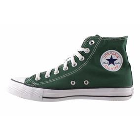zapatillas converse hombre verdes