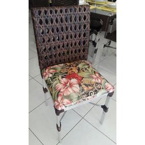 Cadeiras Em Alumínio E Fibra Sintética