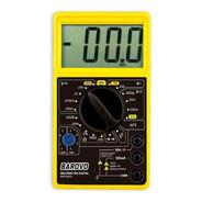 Tester Multimetro Digital Udovo Mul860u C/ Buzzer + Puntas
