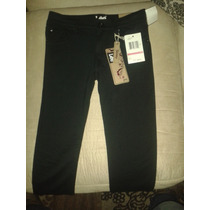 Pantalon Lee Negro De Dama