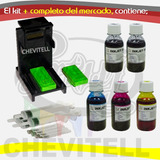 Kit Recarga Cartuchos Hp 662 Hp 664 Hp122 Hp21 Hp22 Snap Tin