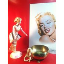 Marilyn Monroe Muñeca Barbie 1985 Y Poster Lámina