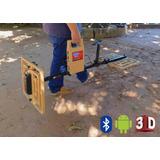 Detector De Metales Tesoro Oro Amx Pro 3d Grafic 8m Bluetooh