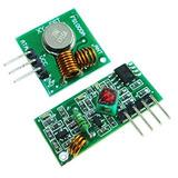 Hiletgo 315mhz Rf Transmisor Y Receptor Kit De Enlace Para